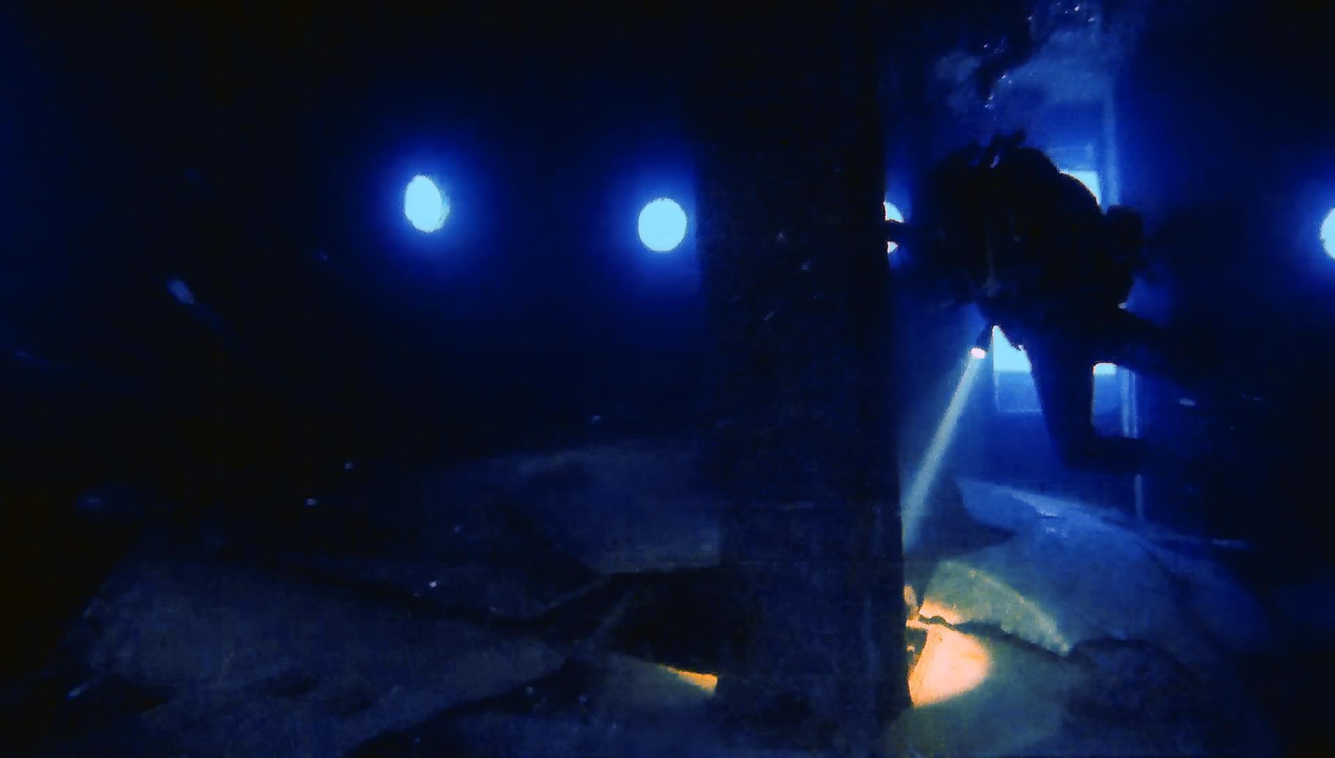 Diver inside Rozi