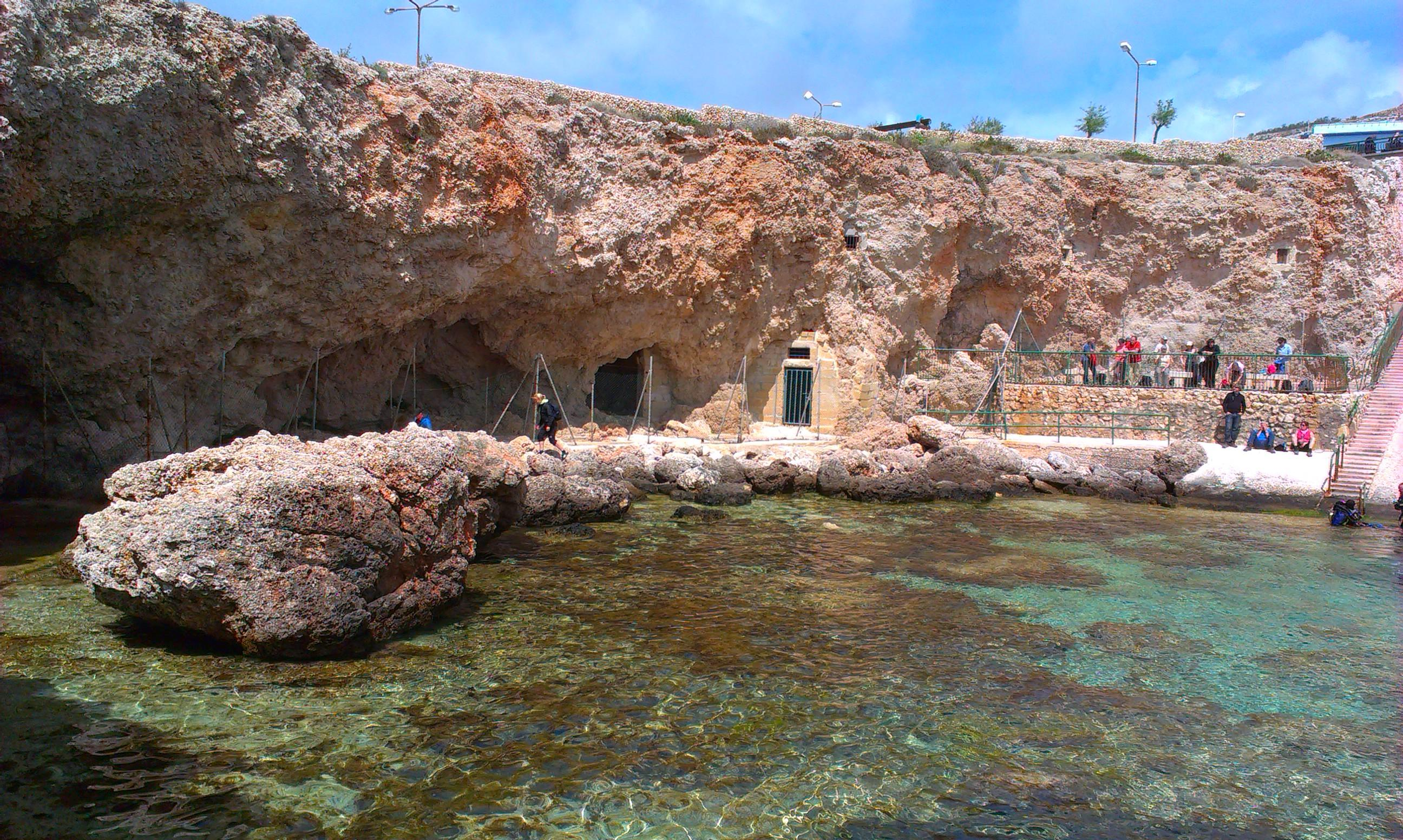 Ghar Lapsi cove