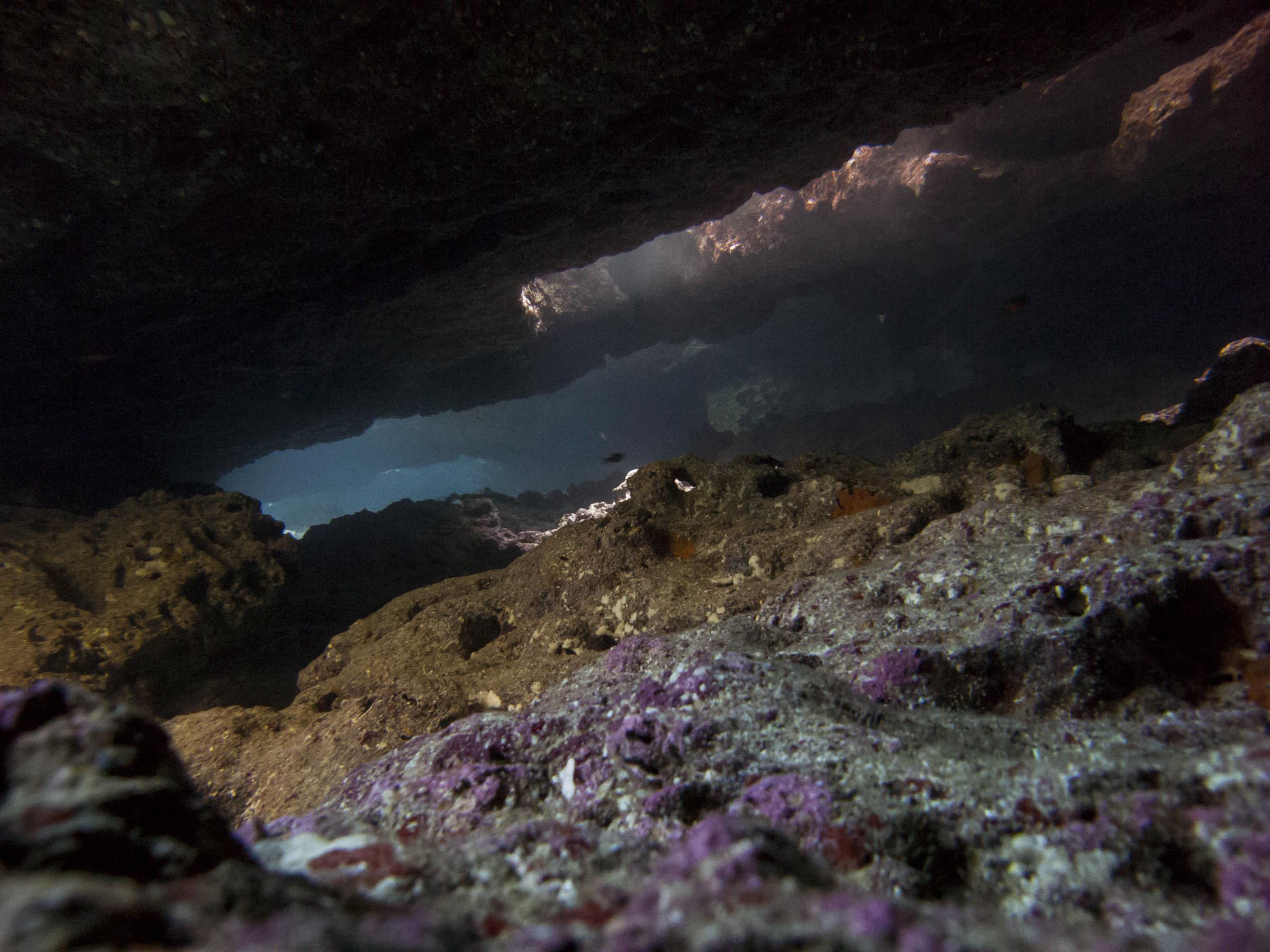 Ghar Lapsi Cave