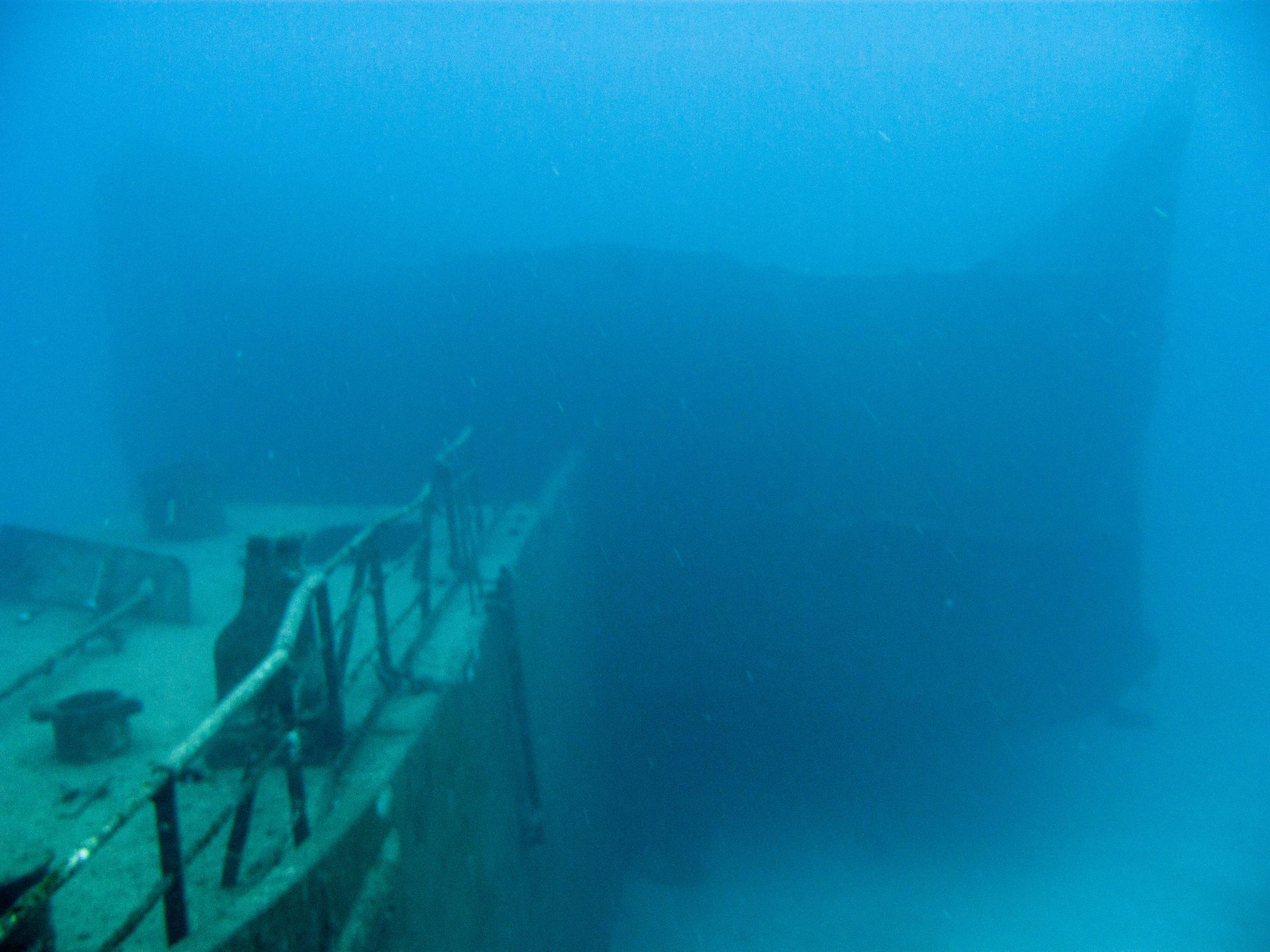 Um El Faroud tanker wreck
