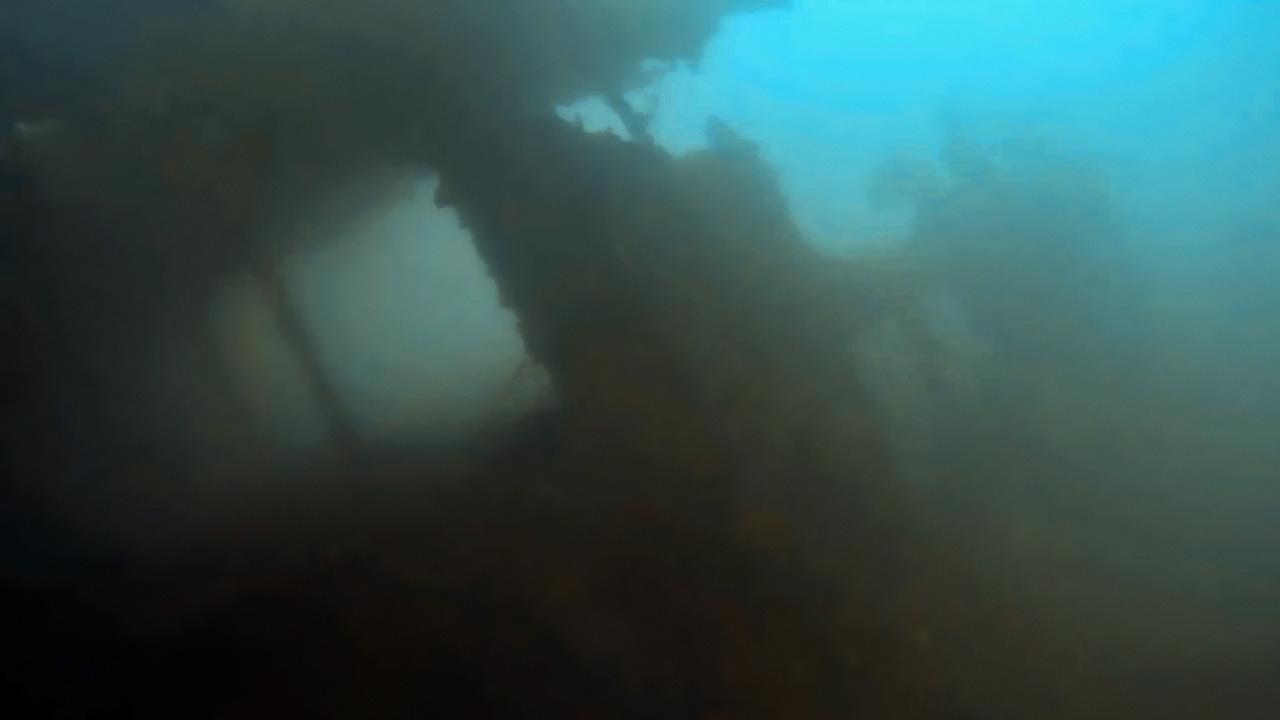 SS Margit deck structures