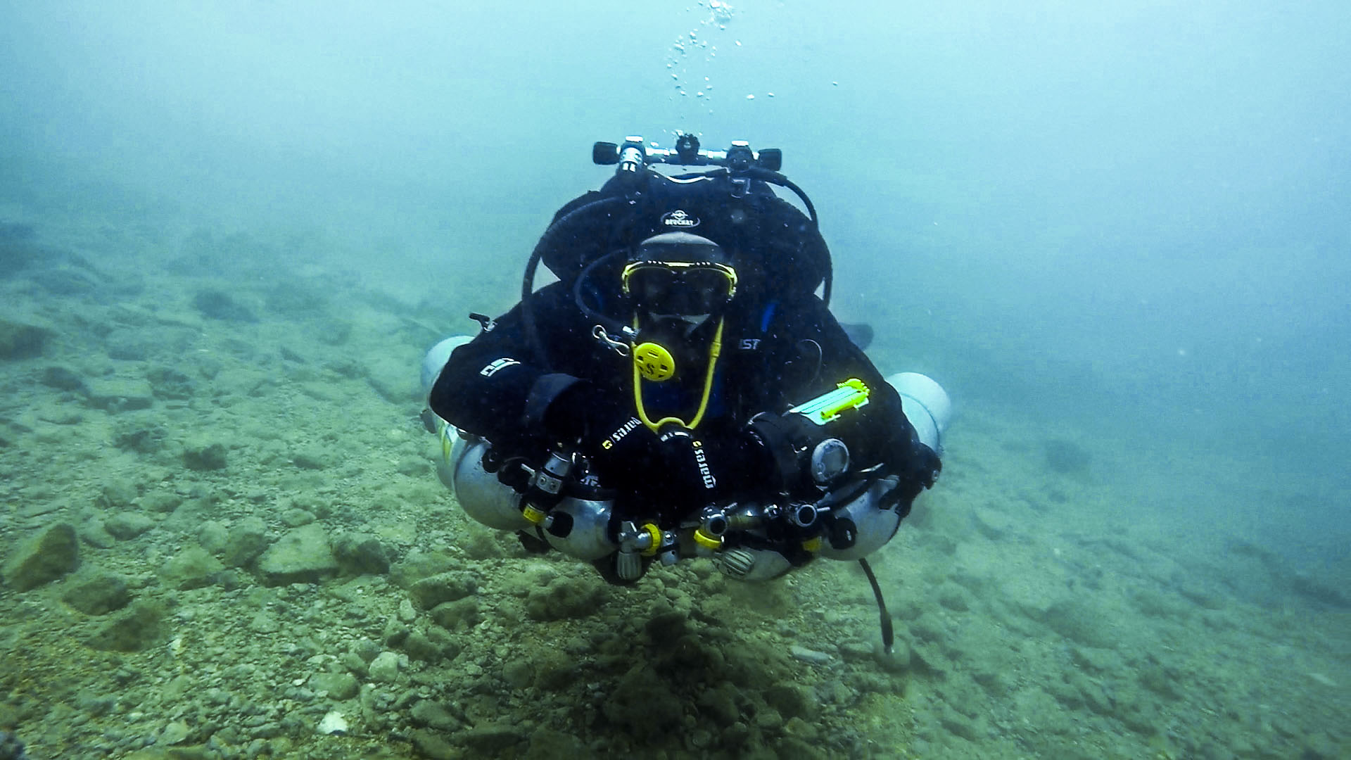 Tec diver training at Manoel Island