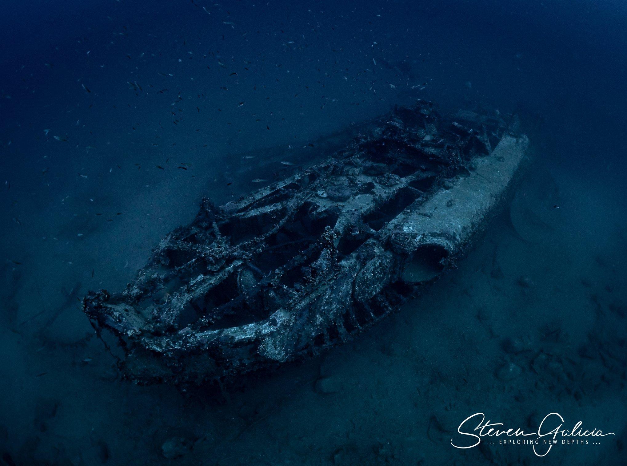S31 Schnellboot, sank 1942 [Steven Galicia]