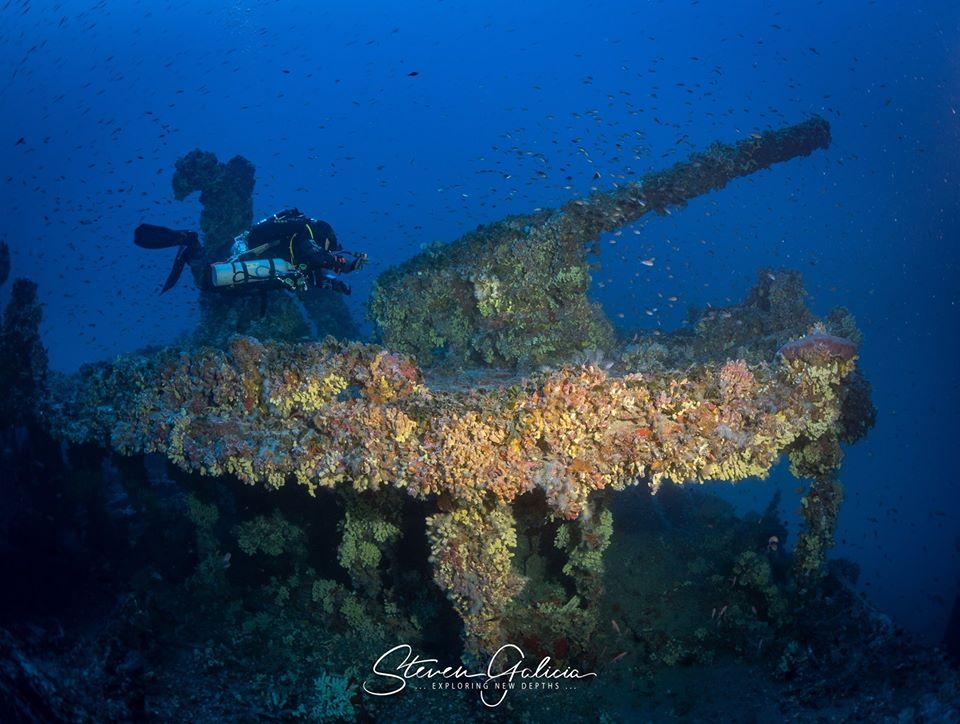 HMS Nasturtium, the aft gun [Steven Galicia]