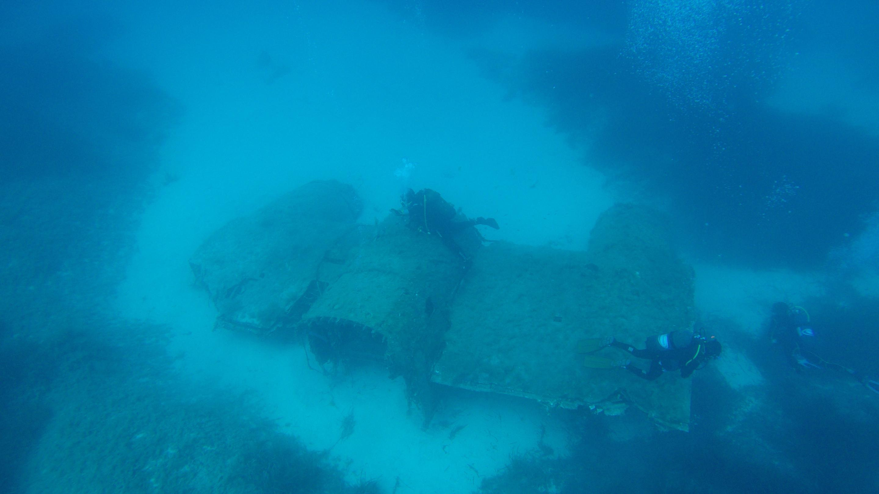 Lockheed Neptune airplane wreck