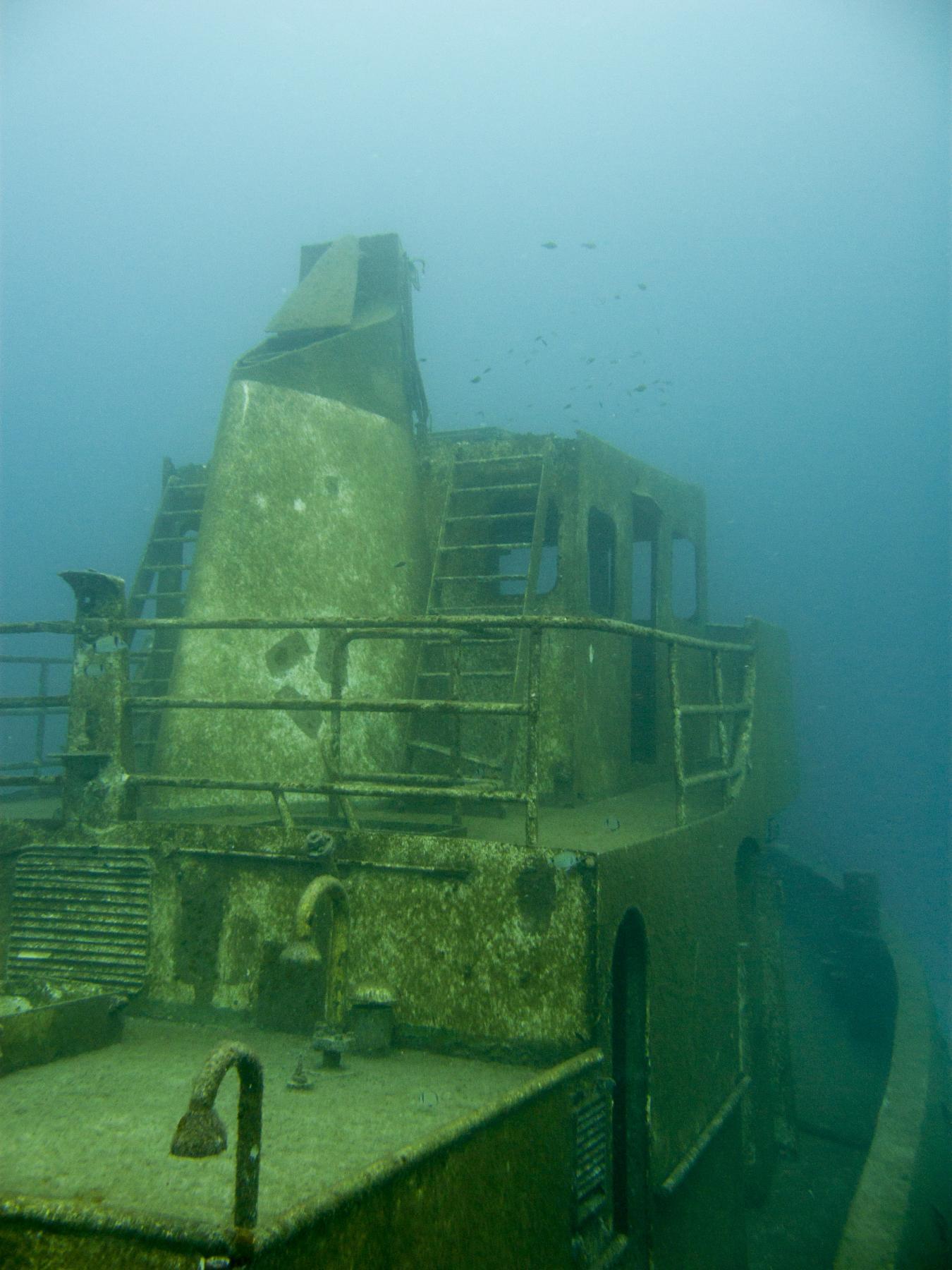Tugboat 2 wreck