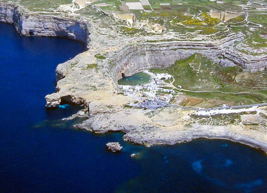 Dwejra from the air