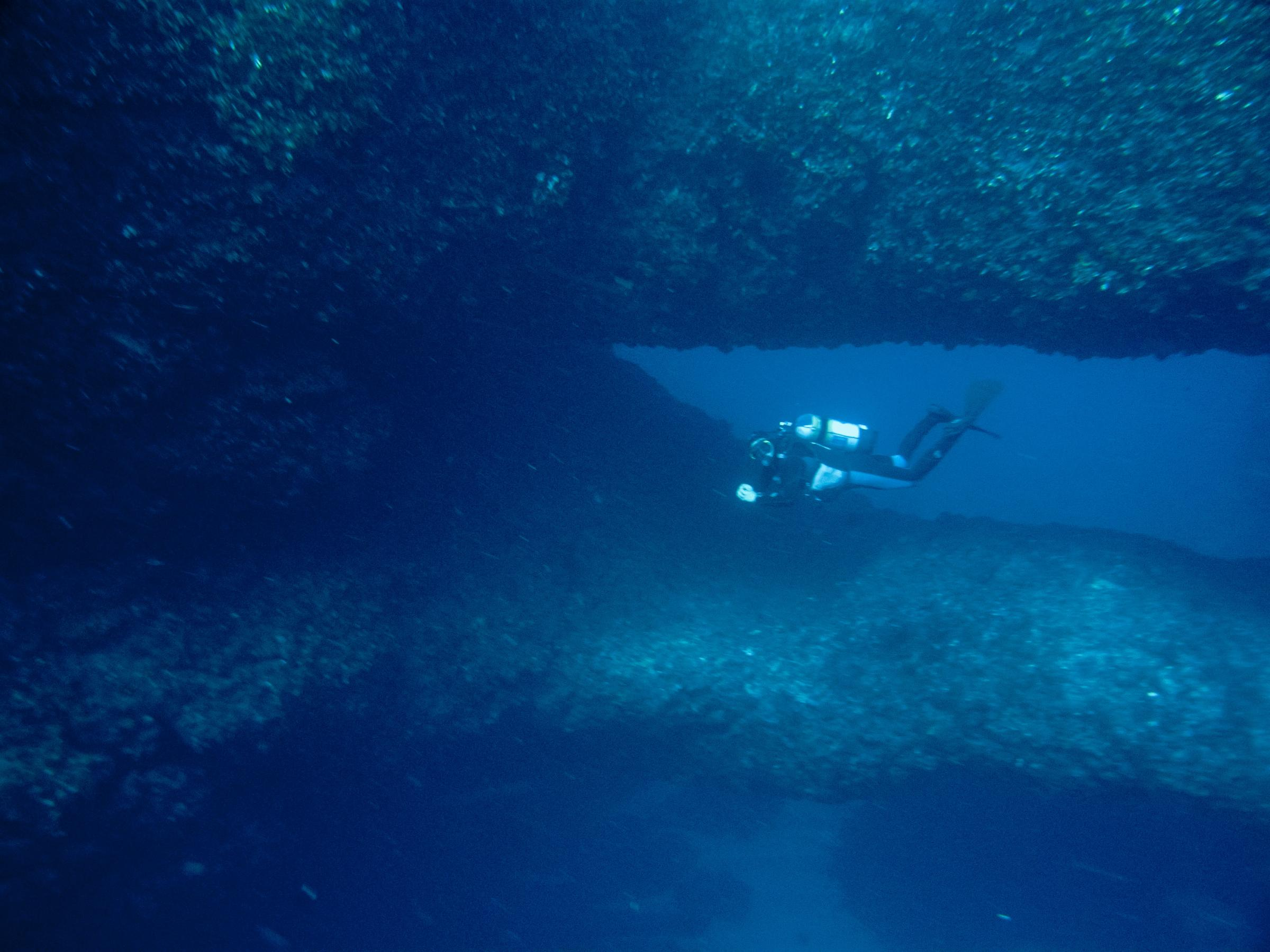Double Arch dive site