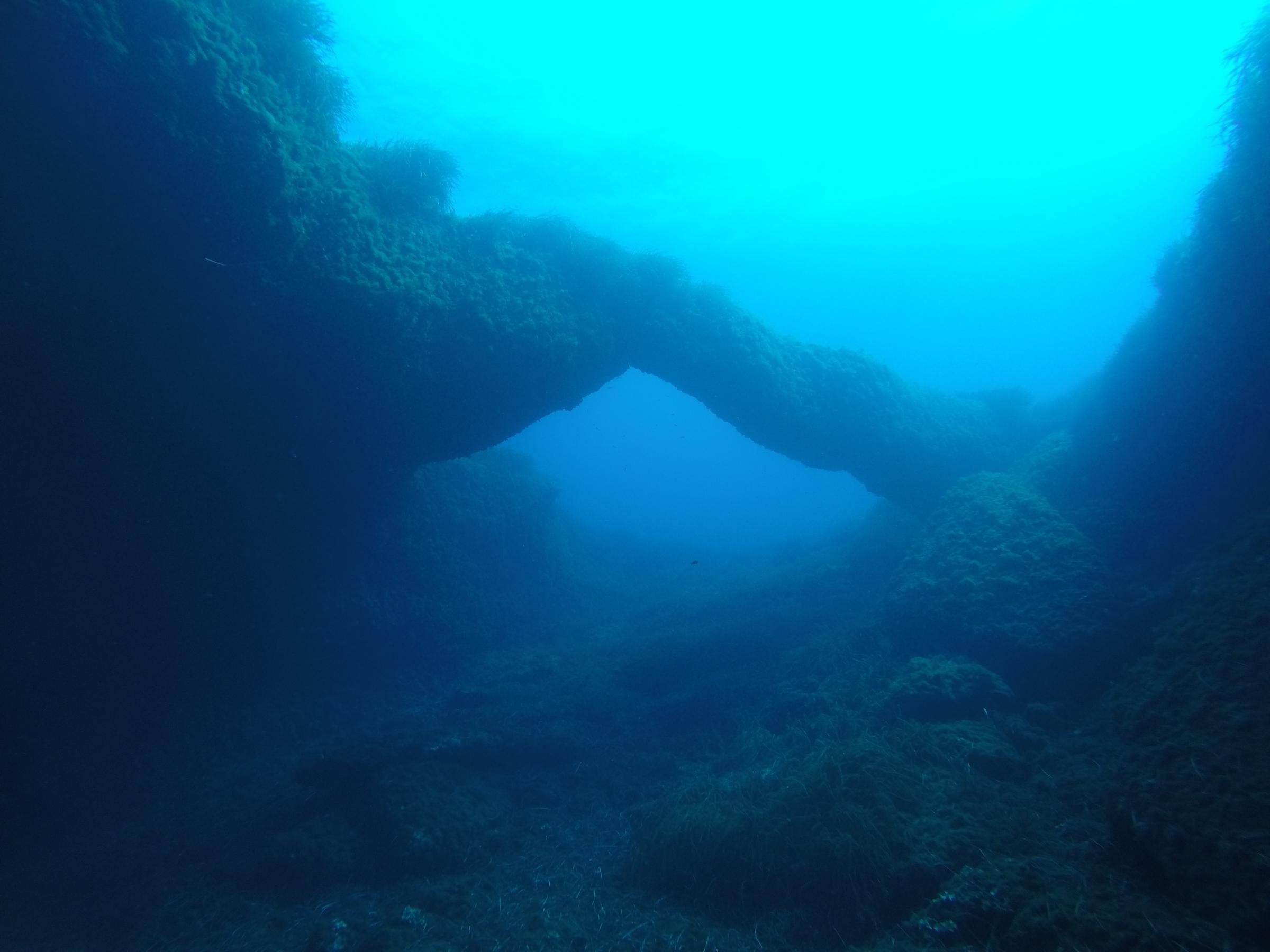 Triple arch, Xwejni Bay, Gozo