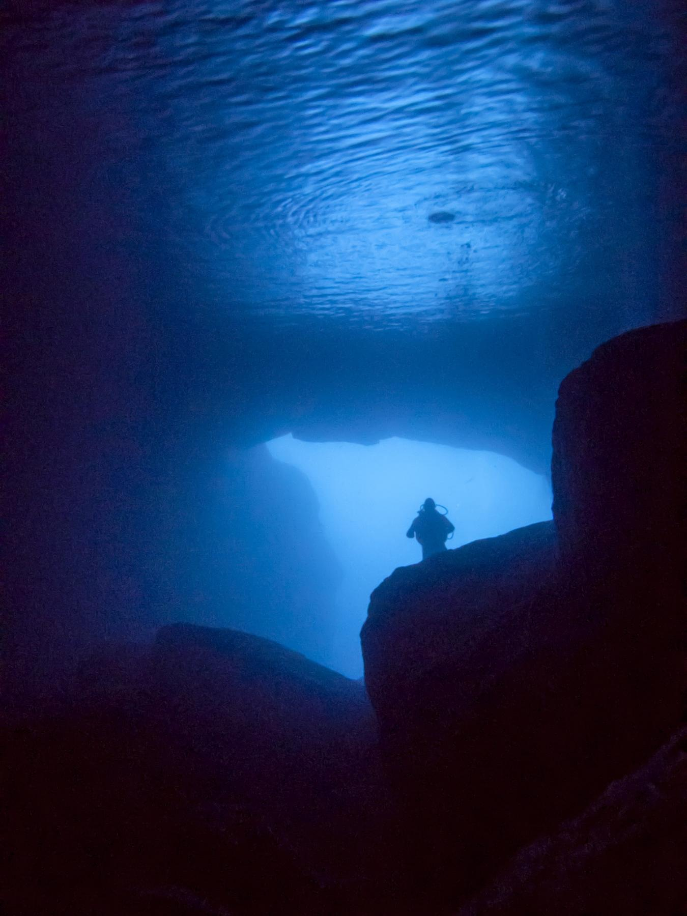 Blue Dome aka Cathedral Cave