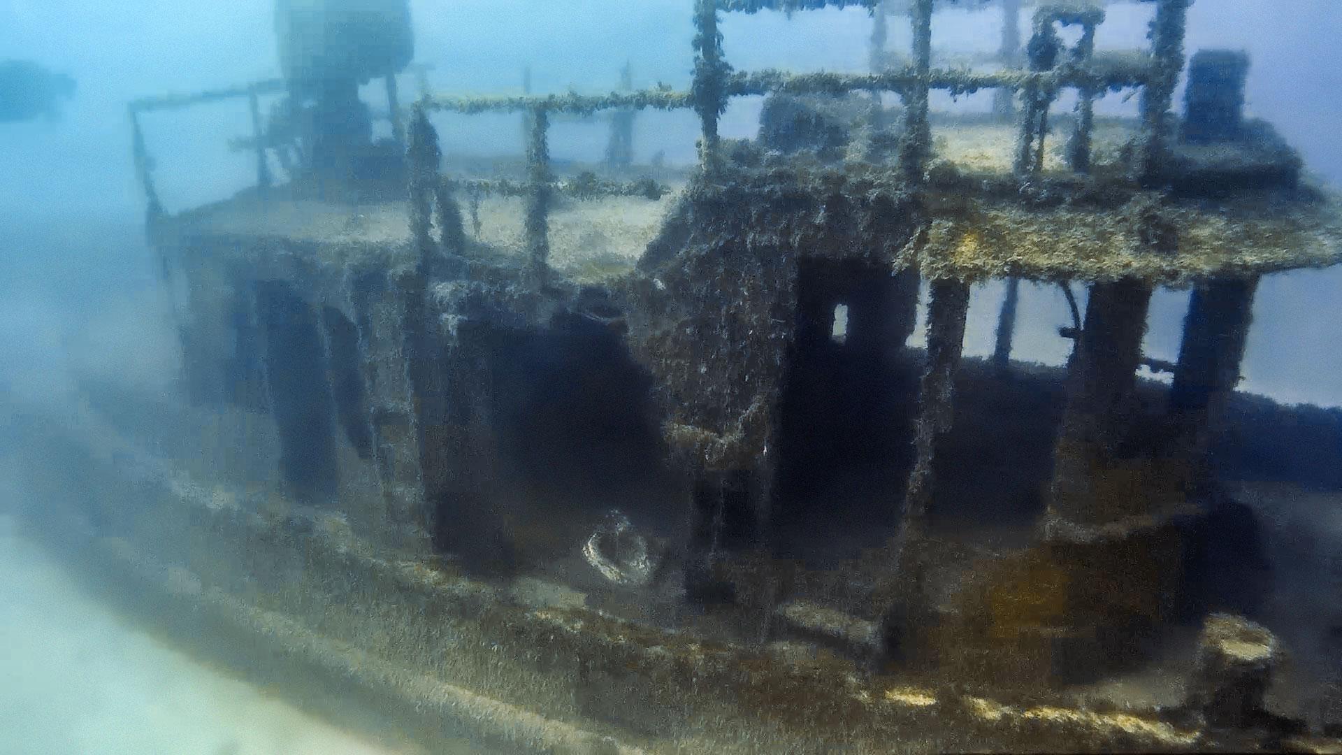 St. Michael tug wreck in Marsaskala