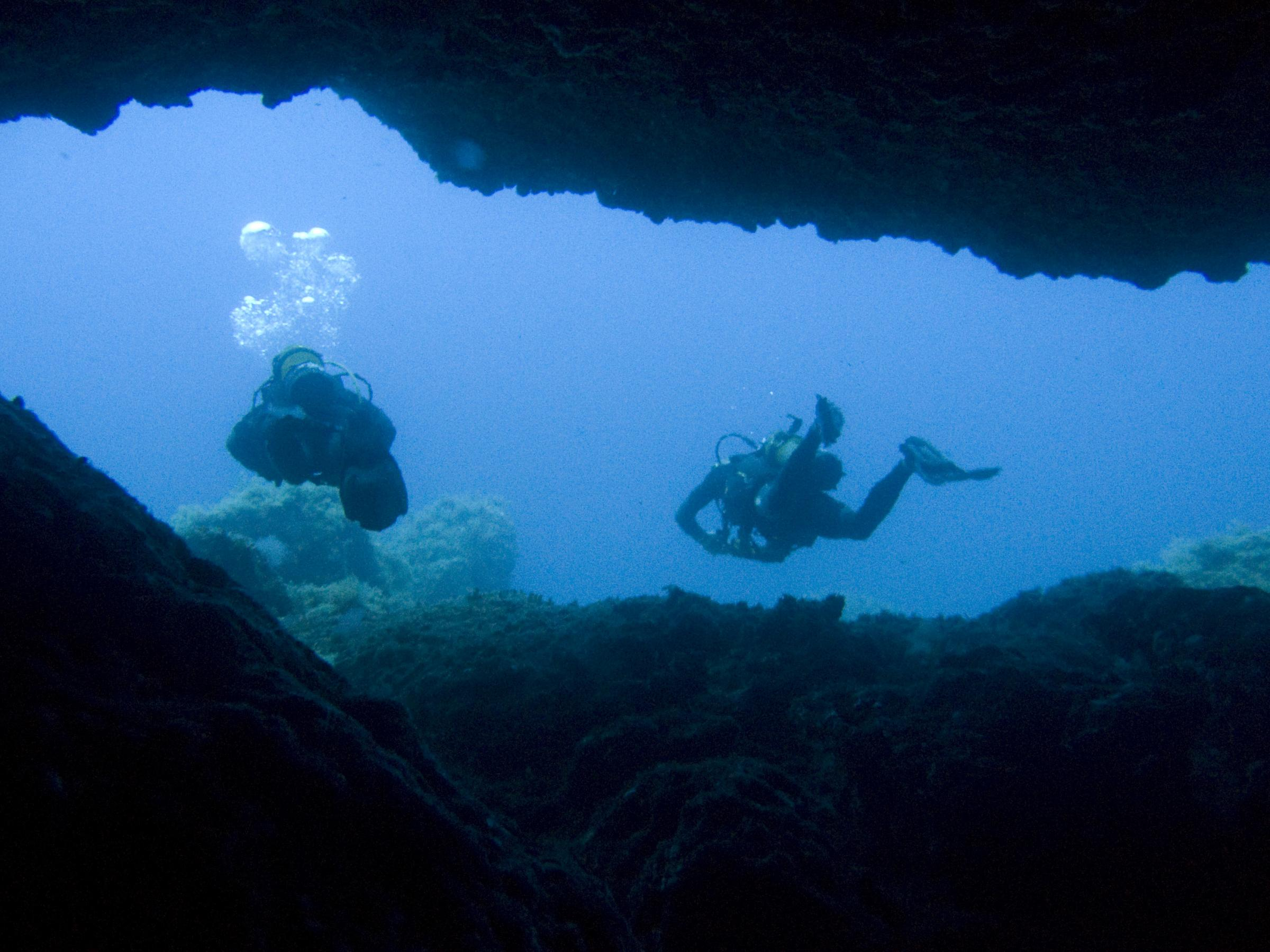 Divers at the Lantern Point