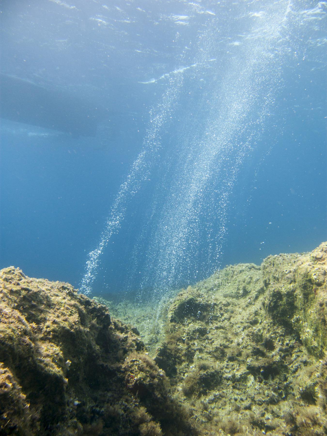 Bubbles at Lantern Point