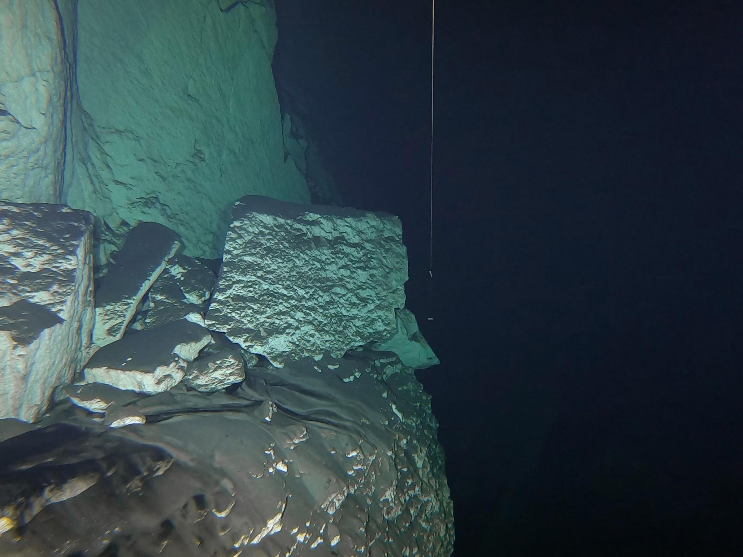 Lines in Harq Hamiem Cave [Adam Sant]