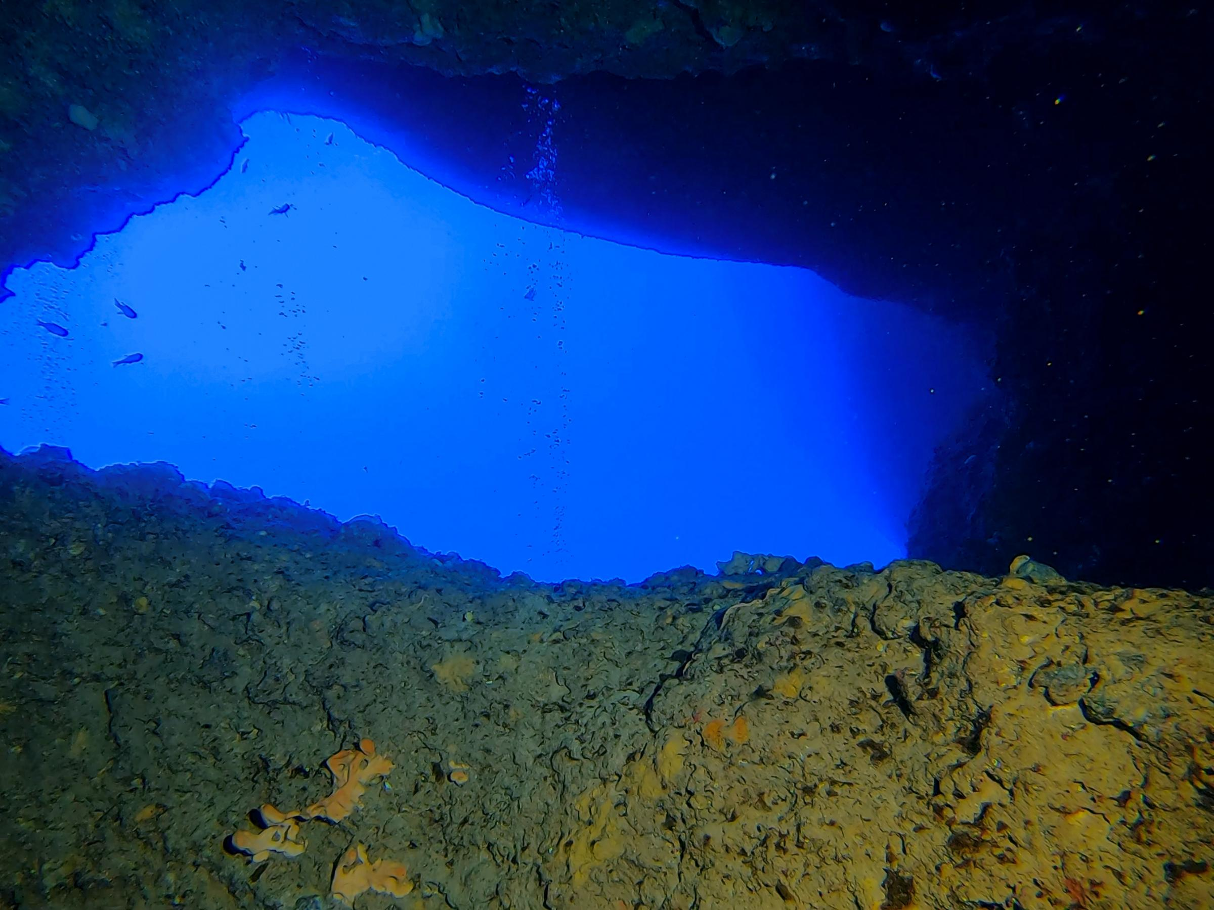 Caverns at Zurziep Reef [Adam Sant]