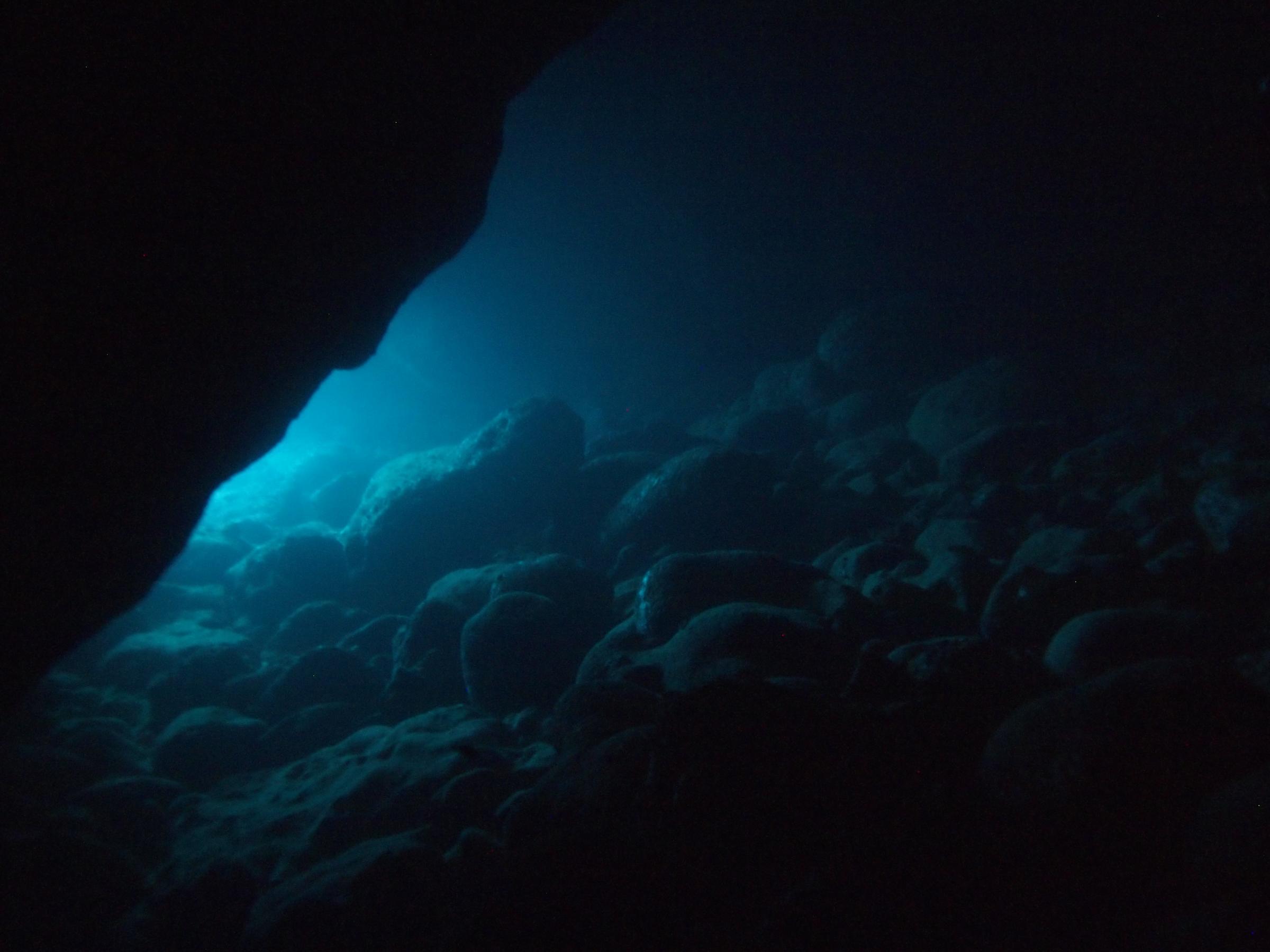 Anchor Bay cave