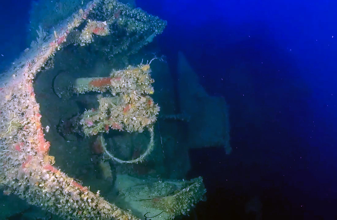 ORP Kujawiak escort destroyer wreck
