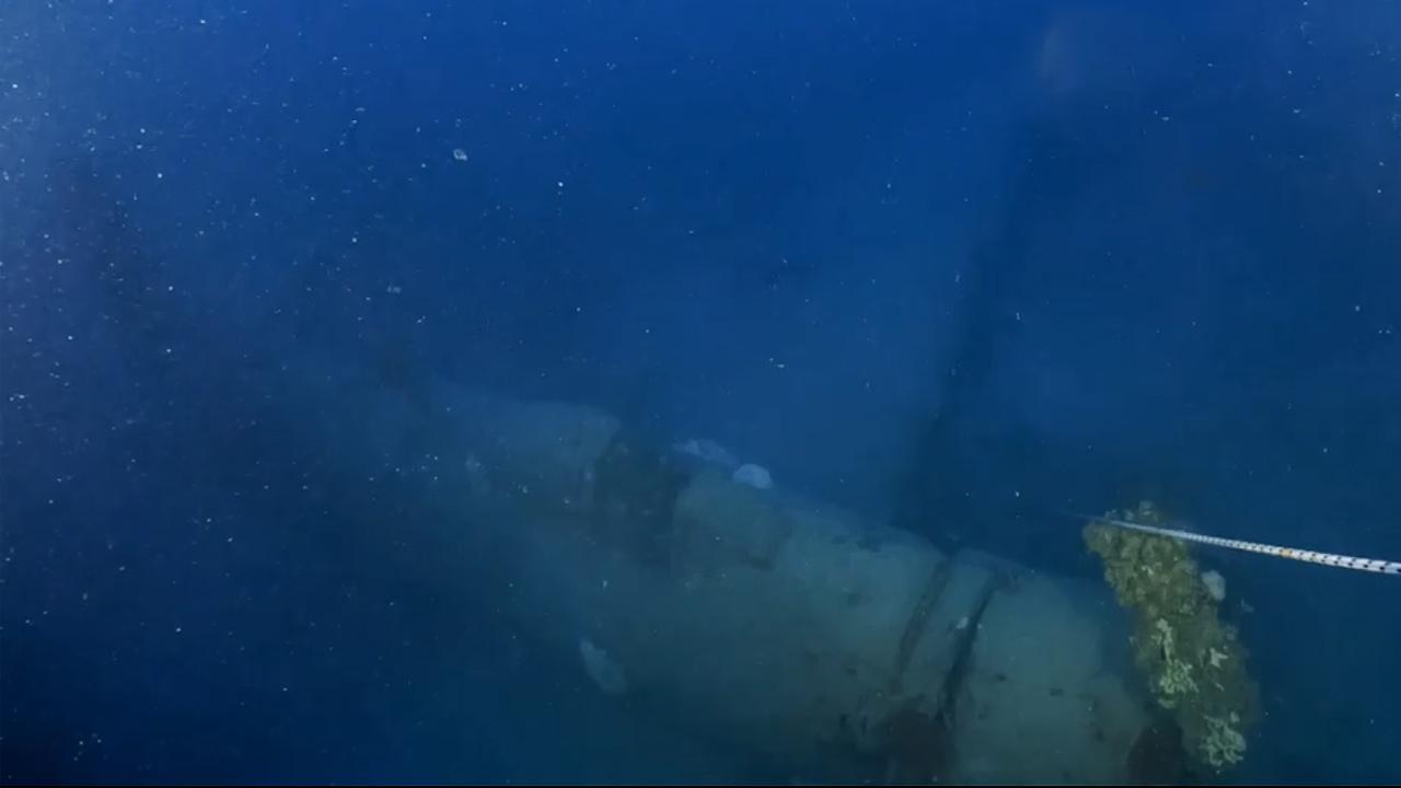 Junkers Ju 88 airplane wreck [Heritage Malta]