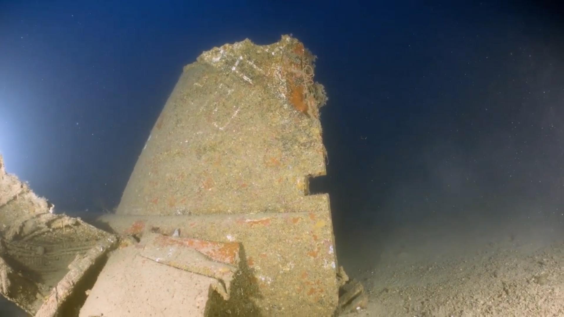 Ju 88 tail damage [Heritage Malta]