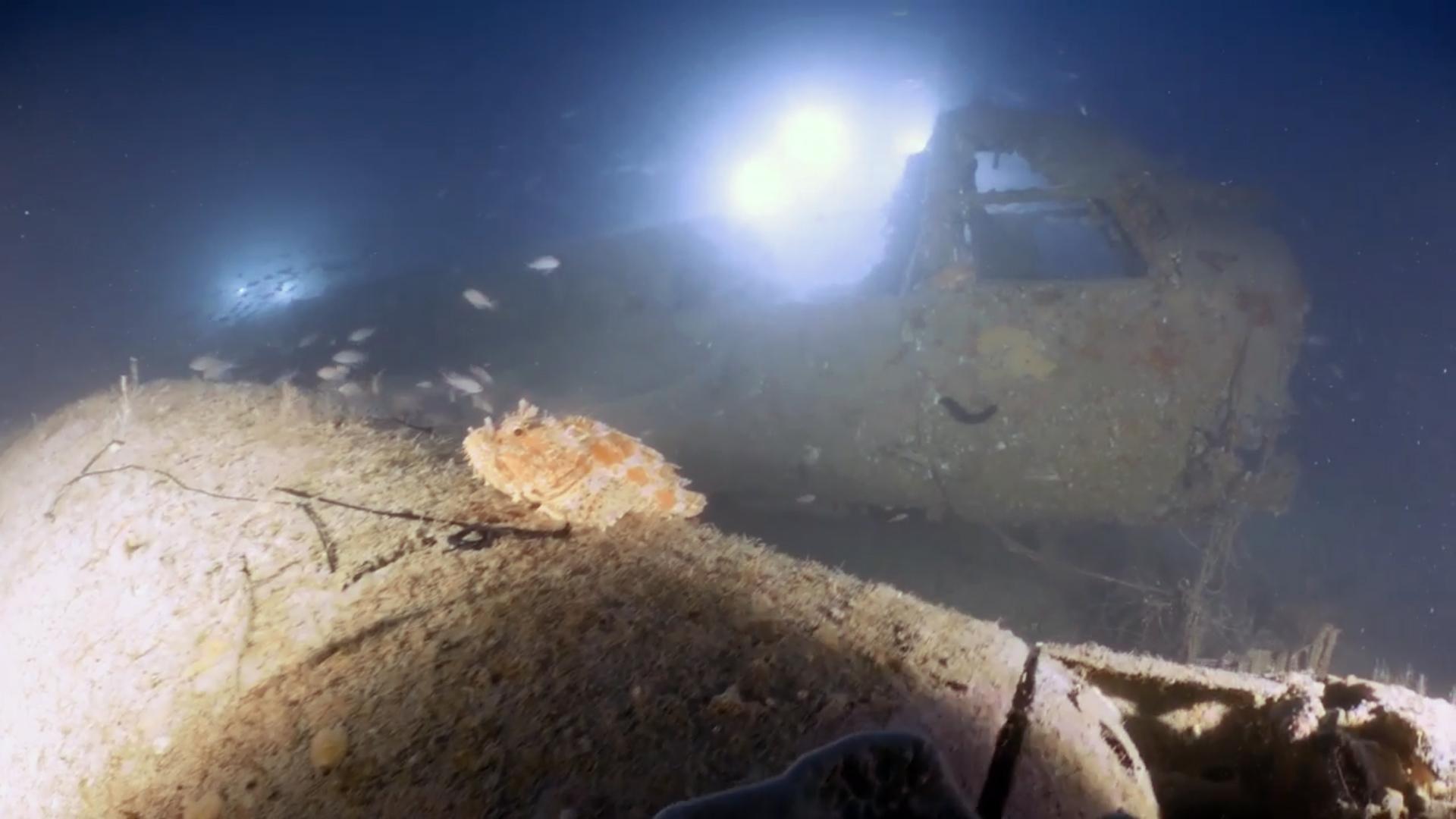 Junkers 88 wreck [Heritage Malta]